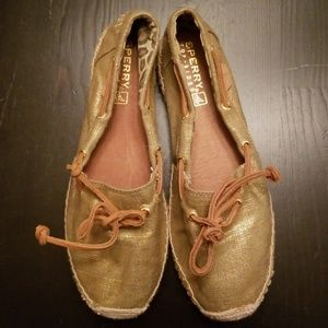 Sperry Top-siders Espadrille slip ons size 8.5